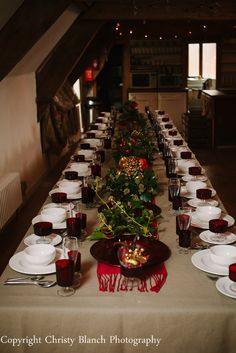 Christmas Table styles by www.bordellobanquets.co.uk photographed by Christy Blanch