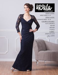 Ursula evening dresses