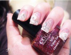 Pure bride nail