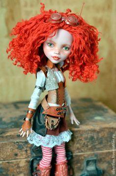 Коллекционные куклы ручной работы. Ярмарка Мастеров - ручная работа ООАК Дракулауры из Monster High. Handmade.