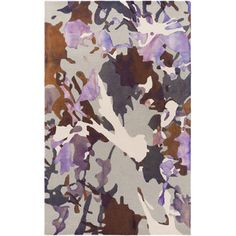 Artistic Weavers Geology Lucas Hand-Tufted Purple Area Rug