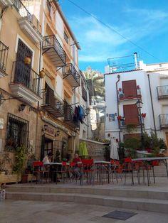 Alicante, Spain  Pretty sure I got coffee on this street.