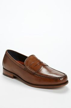 Beautiful color! Cole Haan 'Hudson Square' Penny Loafer available at #Nordstrom