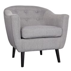 Found it at Wayfair - Mid Century Fabric Accent Chair