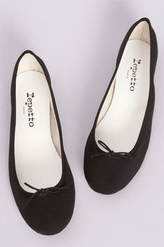 In every girls wardrobe should be a crisp white shirt, a leather bag that gets better with age and these ballerinas.