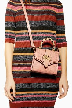 ed44df8c61e5 Twist Snake Cross Body Bag | Topshop Hair Accessories, Handle, Leather, Cross  Body