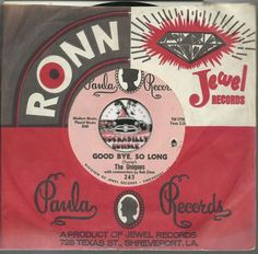 THE UNIQUES Good Bye So Long GROUP GARAGE PSYCH ROCKABILLY BOPPER 45 RPM RECORD  US $20.00
