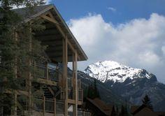 The Aspens at Kicking Horse at Kicking Horse Mountain Resort in Golden, BC.
