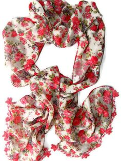 women scarves , Silk chiffon scarf, new design shawl / neckwarmer /cowl  /chiffon scarves, for woman, fashion, scarves on Etsy, $30.00
