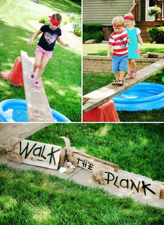 Walk the Plank Pirate Game...these are the BEST Games for Kids & Adults!