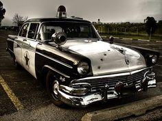 vintage polizei