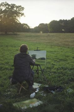 Ah, the life of an artist (plein air) Foto Art, Pics Art, Plein Air, Country Life, Dream Life, Serenity, Art Photography, Creative Photography, Lifestyle Photography