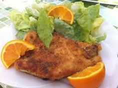 ESCALOPES DE DINDE A L'ORANGE.