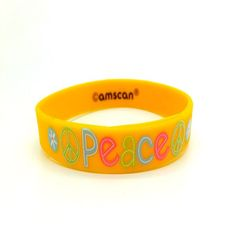 Trendy Silicone Wristband : Favorable reception positive silicone bracelet #Best-sellingsiliconewristband  #