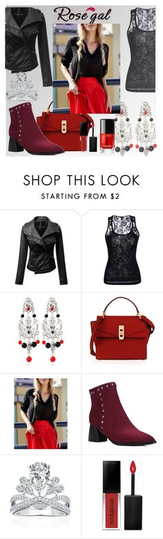 """""""Rosegal"""" by bosnjakovic001 ❤ liked on Polyvore featuring Henri Bendel and Smashbox"""