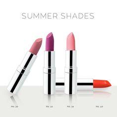 Matt Lasting Lipstick | Seventeen Cosmetics #seventeen #cosmetics #matt #lipstick #Lips #makeup #beauty Summer Shades, Seventeen, Beauty Products, Lipstick, Collections, Cosmetics, Makeup, Make Up, Lipsticks