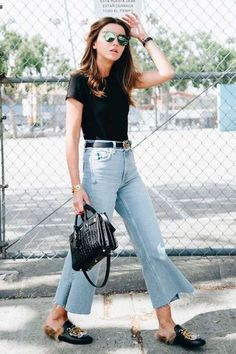 Best Jeans For Women Pull On Jeans – bueatyk Mode Outfits, Jean Outfits, Fashion Outfits, Womens Fashion, Casual Outfits, Fashion Ideas, 20s Outfits, Summer Outfits Women 20s, 2020 Fashion Trends