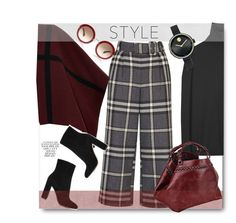 """""""Style."""" by gul07 ❤ liked on Polyvore featuring мода, Jil Sander, Topshop, Gianvito Rossi, Burberry, Caroline De Marchi и Movado"""