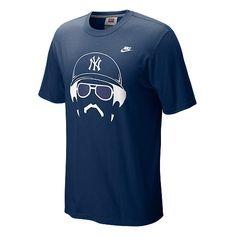 9406dd64f Hair-itage Reggie Jackson Player T-Shirt Yankees T Shirt