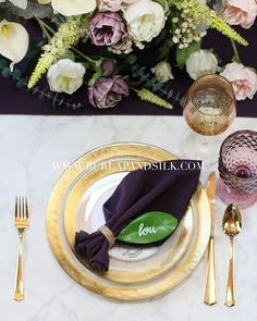 Plum napkins for weddings, catering events, hotels and restaurants. Premium grade plum napkins that resemble eggplant napkins or aubergine napkins. Call for wholesale plum napkins. Deep Purple Wedding, Plum Wedding, Wedding Colors, Wedding Table Linens, Wedding Reception Tables, Wedding Catering, Wedding Wows, Elegant Wedding, Wedding Dress