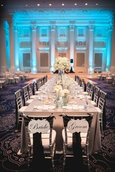 Barclay Events Steele Photography Sentinel Hotel #silver #wedding