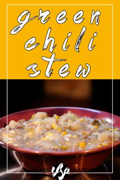 green chili stew from tocabe restaurant. american indian recipe.