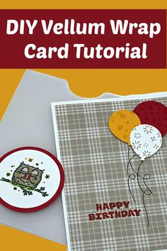 Let's DIY a Vellum Wrap Card. This creative card idea is perfect for birthday cards, wedding or invitation and more. I love using vellum paper! Check it out at www.lisasstampstudio.com #vellumcards #cardmakinginspiration #cardmaking #cardmakingtutorials #cardvideos #diycards #handmadecards #greetingcardshandmade #lisacurcio #lisasstampstudio #stampinup #stampinupcards Card Making Supplies, Card Making Tutorials, Card Making Techniques, Homemade Greeting Cards, Greeting Cards Handmade, Unique Cards, Creative Cards, Unique Birthday Cards, Studio Cards