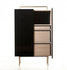 MAISON & OBJET 2014 |  Trunk Tall Cabinet by Neri&Hu for De La Espada