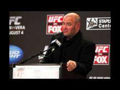 Dana White Announces UFC 151 Cancellation