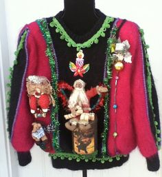 Ugly Christmas Sweater where nostalgia reigns This by stealofadeal