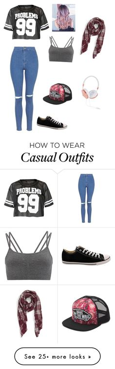 """""""casual"""" by fashioncity4me on Polyvore featuring Sole Society, Topshop, Sweaty Betty, Frends, Vans, Converse, women's clothing, women, female and woman"""