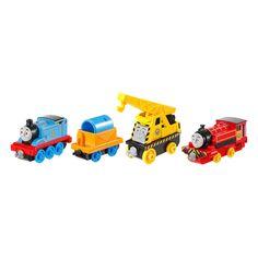 Divirta-se e construa seu mundo de Thomas e seus Amigos com a Coleção Collectible Railway!  São diversos vagões - vendidos separadamente - dos seus personagens preferidos para você brincar, colecionar e expandir seu mundo de Thomas e Seus Amigos!