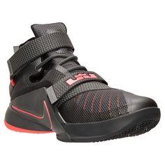 Men's LeBron Soldier 9 PRM Basketball Shoes - 749490 008 | Finish Line
