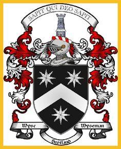 Scottish Wyseman/Wyse coat of arms