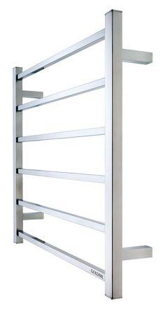 Goldair 6 bar mirror sq towel rail – Best Towel Models and Patterns 2020 Designer Radiator, Towel Rail, Bar, Mirror, Bathroom, Radiators, House, Ideas, Steam Room