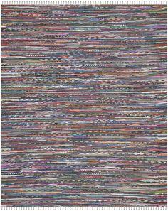 Safavieh Rag Striped Contemporary Area Rug & Reviews   Wayfair