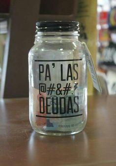 Alcancia Bottles And Jars, Mason Jars, Food Font, Savings Jar, Family Rules, Money Box, Cake Smash, Piggy Bank, Hand Lettering