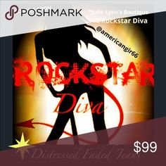 R͙O͙C͙K͙S͙T͙A͙R͙ Diva Is coming to Poshmark The Diva has been blessed with amazing journeys. Her quick wit and ability to share a story has opened many doors of opportunity. Talent Scout for top record labels. Live Interviews with amazing bands around the world 🌎 She started her own radio show ROCKSTAR Diva. A few of her favorite places, Brazil & Germany. This Diva only knows one speed and that's FULL THROTTLE 🚀 I am honored that my Posh Boutique was chosen to Launch her personal flair on…