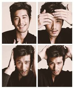 Godfrey Gao. What a cutie...pretty darn perfect casting for Magnus Bane.