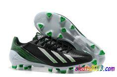 sale retailer 67f08 7c8e6 Adidas F50 Adizero TRX FG Messi Limited Soccer Cleats - Black White Power  Green  59.43 Nike