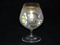 SHOP-PARADISE.COM:  Jubiläumsglas weiss 400 ml H 15 cm D 9 cm 16,65,70 Jahre 14,28 €