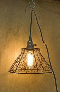 179 00 chicken wire basket pendant light 12 h x 19 w imagine rh pinterest com