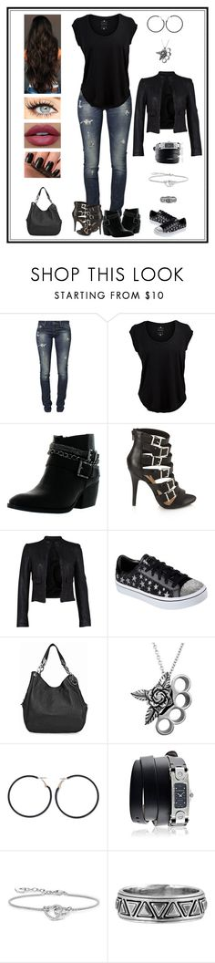 """Untitled # 917"" by binasa87 ❤ liked on Polyvore featuring GUESS, Velvet by Graham & Spencer, Betani, Forever 21, French Connection, Skechers, Michael Kors, Ana Accessories, Givenchy and Thomas Sabo"