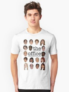 Characters from the hit TV show The Office drawn by myself in Illustrator. • Also buy this artwork on apparel, stickers, phone cases, and more.