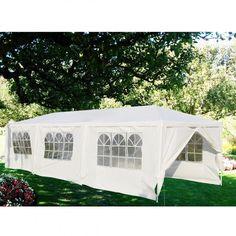 30 x 10 ft Outdoor Party Canopy Tent with 8 Walls - Canopies & Gazebos - Outdoor Structures - Outdoor Living - Lawn & Garden - Home & Garden