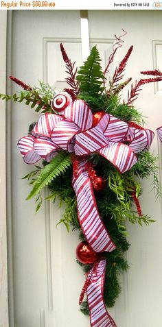 Candy Cane Holiday Treasures by Susan Ferko on Etsy