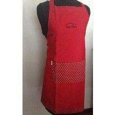 Handmade Cape Town Apron - Red