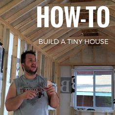 How To Build A Tiny House posted in How-To	on May 6, 2015 by	Andrew M. Odom
