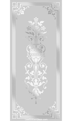 All of our Victorian and Traditional etched glass designs can be used with any border so the images below can be used to create your [. Glass Partition Designs, Window Glass Design, Frosted Glass Design, Frosted Glass Door, Wooden Glass Door, Etched Glass Door, Glass Hinges, Etched Glass Windows, Glass Doors