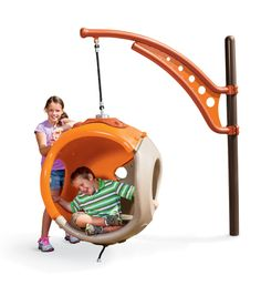 Cozy Cocoon fun for all children, but specially designed for those with autism spectrum disorders. Enclosed space for one child to escape the playground when s/he becomes over stimulated. Interior textures & molded-in features for tactile exploration. Windows on both sides for adult visibility. Helpful grips provide easier entrance/exits for child.